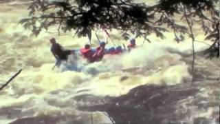 Belle video de rafting
