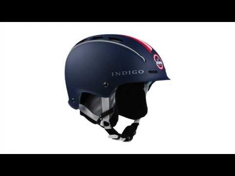 Indigo High Zurs Ski Helmet In Blue