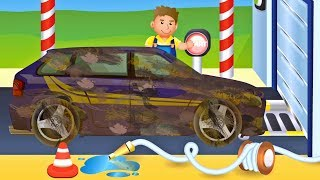 Car Wash Fun for Kids  🚗 Washing Cars Game App for Children