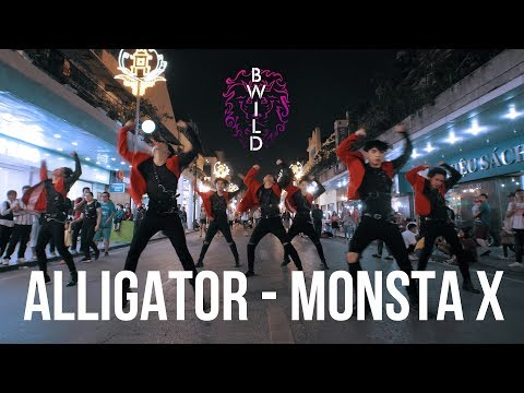 [KPOP IN PUBLIC] MONSTA X 몬스타엑스 'Alligator' |커버댄스 Dance Cover| By B-Wild From Vietnam