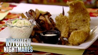 Gordon Ramsay Appalled By 'English Style Fish & Chips