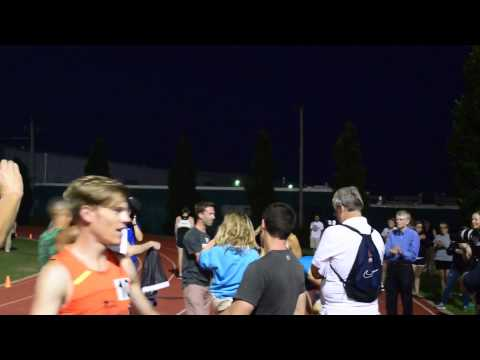 FOM St. Louis Track Club Mens Mile Highlights