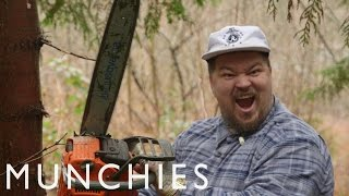 Chainsaws, Ladyhawk, & 1,000-Pound Pigs