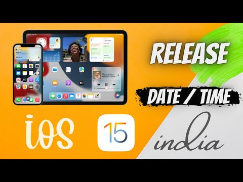 iOS 15 release date and time india   When does ios 15 come out