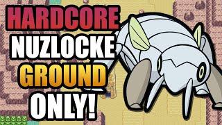 Pokémon Emerald Hardcore Nuzlocke - Ground Type Pokémon Only! (No items, No-overleveling)