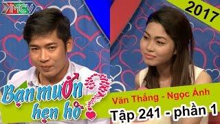 """Cô nàng """"gặp trai là hổng thích"""" đi tìm kiếm người yêu hẹn hò   Văn Thắng - Ngọc Ánh   BMHH #241"""
