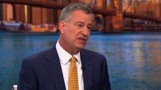 De Blasio: I'll defy Trump on sanctuary cities