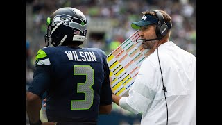 "Wilson on Carroll, Seahawks firing Brian Schottenheimer: ""No. You ask me am I in favor of it? No."""