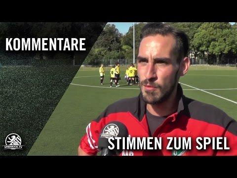 Die Stimmen zum Spiel (FSV Fortuna Pankow - SV Buchholz, U17 B-Junioren, Bezirksliga, Staffel 1) | SPREEKICK.TV