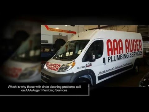 Choose AAA AUGER Plumbing Services for Reliable Drain Cleaning Services