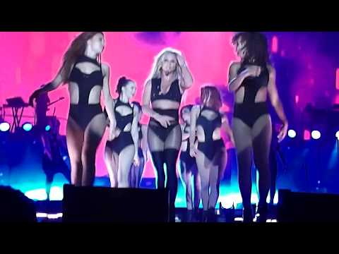 Britney Spears - I'm A Slave 4 U + Make Me + Freakshow + Do Somethin' (Live In Tel Aviv 2017)