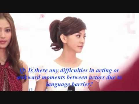 Extravagant Challenge-Press Conference 31.3.2011 ENG SUB - Skip beat drama