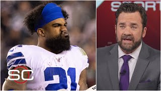 Ezekiel Elliott getting 13 carries in Cowboys vs. Eagles is baffling – Jeff Saturday | SportsCenter