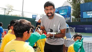 Tennis Emirates Inspires Young Tennis Players