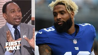 No one questioned Odell Beckham Jr.'s heart until he said something - Stephen A. l First Take