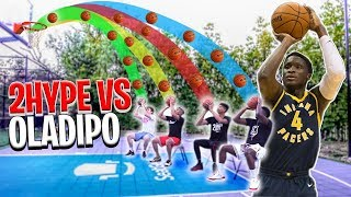 NBA Basketball BANK in Chairs - 2HYPE vs. Victor Oladipo