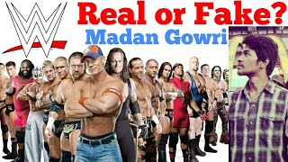 WWE Real or Fake? | History | Madan Gowri | Tamil | MG Vlog