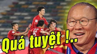 Họp báo sau trận thắng Jordan - Thầy Park đáp trả báo châu Á