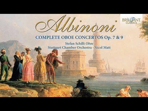 Albinoni: Complete Oboe Concertos (Full Album)