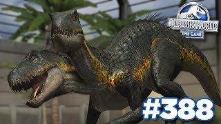 FUSING 2 INDORAPTORS TOGETHER!!! | Jurassic World - The Game - Ep388 HD