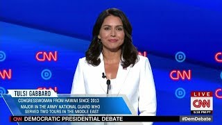 Watch the 9 minutes that has America searching Tulsi Gabbard