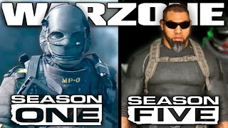 Call of Duty Warzone: The Full Story So Far (Season 1- Season 5)