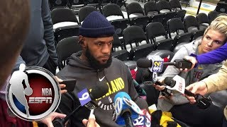 LeBron James says Cavaliers are excited for Derrick Rose's return | ESPN