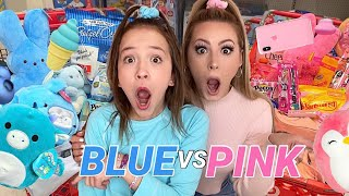 ULTIMATE PINK 💗 VS BLUE 💙 SHOPPING CHALLENGE!