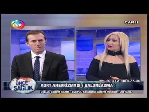 Aort Anevrizması (Balonlaşması)- 23.01.2017 Ege TV