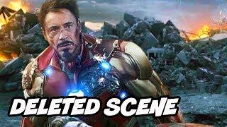 Avengers Endgame Deleted Scenes - Iron Man Doctor Strange Ending Breakdown