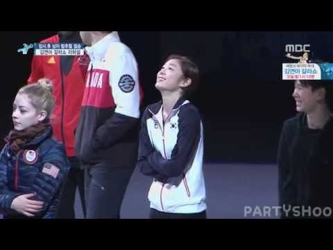 KIM YUNA - Figure skating Gala show Finale Rehearsal 1/2
