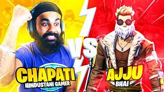 AJJU BHAI YOU LOSE YOU UNINSTALL @Total Gaming | FREE FIRE
