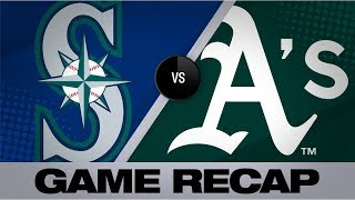 A's mash 6 homers in 10-2 victory | Mariners-A's Game Highlights 7/17/19