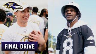 Drew Brees Talks About His Son Meeting Lamar Jackson | Ravens Final Drive