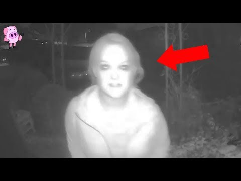 Scary Footage Caught by Ring Doorbell Security Cameras