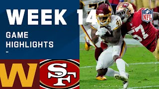 Washington Football Team vs. 49ers Week 14 Highlights | NFL 2020