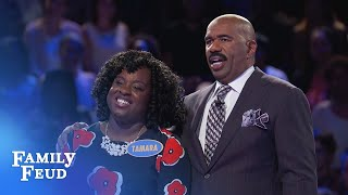 The Browns play Fast Money! | Family Feud