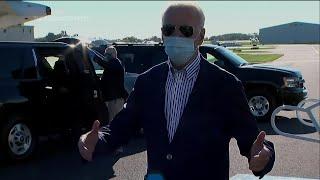 Biden unsure on virtual debate status