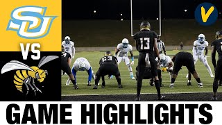 Southern vs Alabama State Highlights| 2021 Spring College Football Highlights