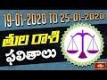 Libra Weekly Horoscope By Dr Sankaramanchi Ramakrishna Sastry | 19 Jan 2020 - 25 Jan 2020