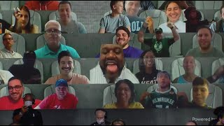 Shaq Was Comedy As A Virtual Fan In The NBA Bubble