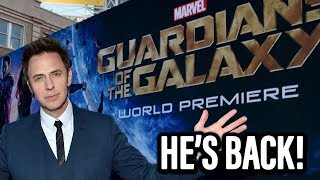 James Gunn Back As Guardians 3 Director - What Do You Think
