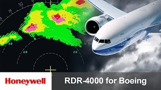 RDR-4000 IntuVue™ Weather Radar Pilot Training for Boeing Aircraft   Avionics   Honeywell Aviation