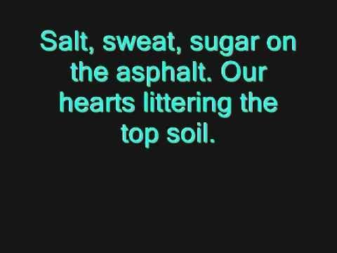 Bleed American by Jimmy Eat World Lyrics (on screen)
