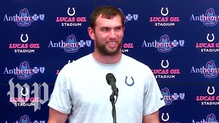 Andrew Luck becomes the latest in trend of NFL players retiring early