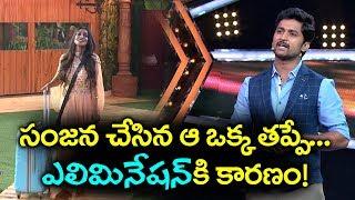 The Main Reason Behind Sanjana Anne Elimination   Bigg Boss 2 Episode 8 Telugu   YOYO Cine Talkies
