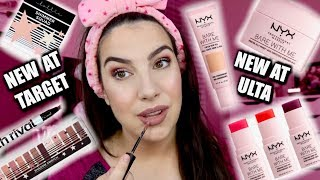 NEW AT THE DRUGSTORE... Playing with NYX & Lottie London