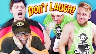 SMOSH PIT'S TRY NOT TO LAUGH CHALLENGE #27 | Dan Ex Machina Reacts