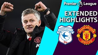 Cardiff City v. Manchester United | PREMIER LEAGUE EXTENDED HIGHLIGHTS | 12/22/18 | NBC Sports