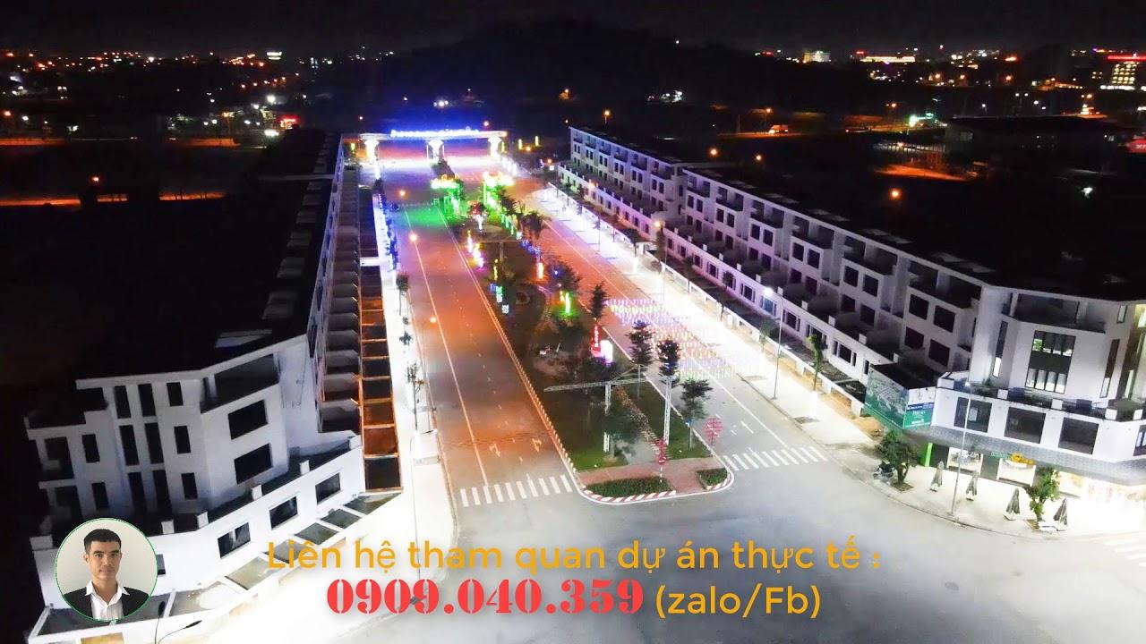 Shophouse 5 tầng mặt tiền 50m trung tâm thành phố Quảng Ngãi DT 150m2 (6mx25m) giá 4 tỷ 350triệu video
